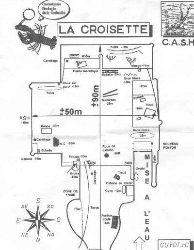 Croisette plan